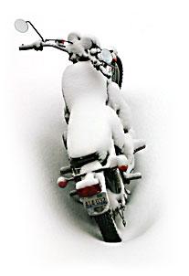 Bild MC i snö