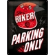 SKYLT BIKER PARKING ONLY HELMET